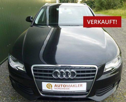 Audi A4 Avant TDi DPF