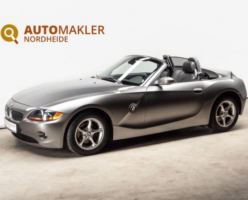 Ein gepflegter BMW Z4 mit der beliebten 6 Zylinder Maschine ,2.2l -125KW 24V mit Katalysator.