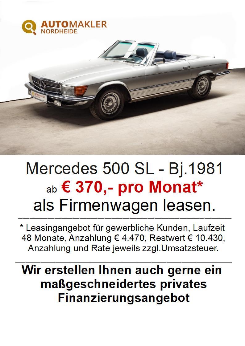 Mercedes-Benz 500SL - deutsches Fahrzeug