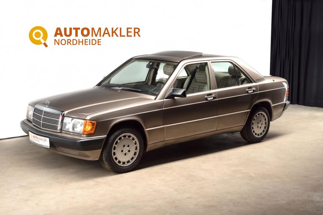 """Schöner 190E 2.3l mit der seltenen Lackierung """"impala brown"""""""