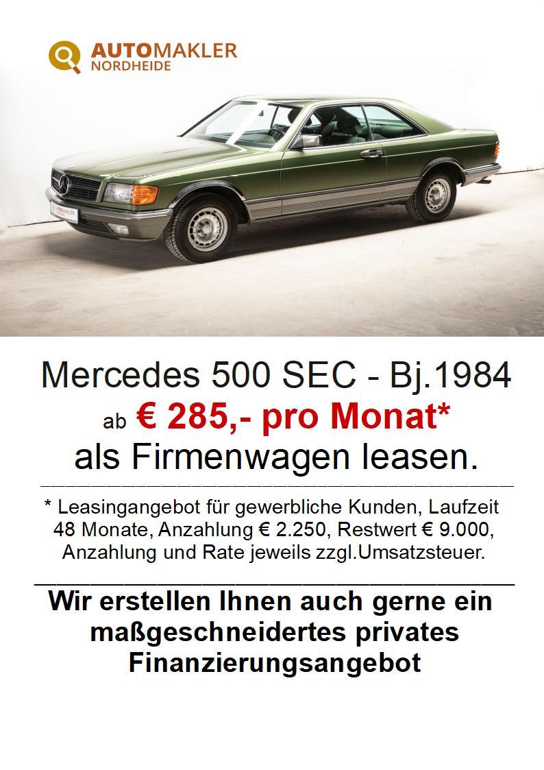 Mercedes-Benz 500 SEC