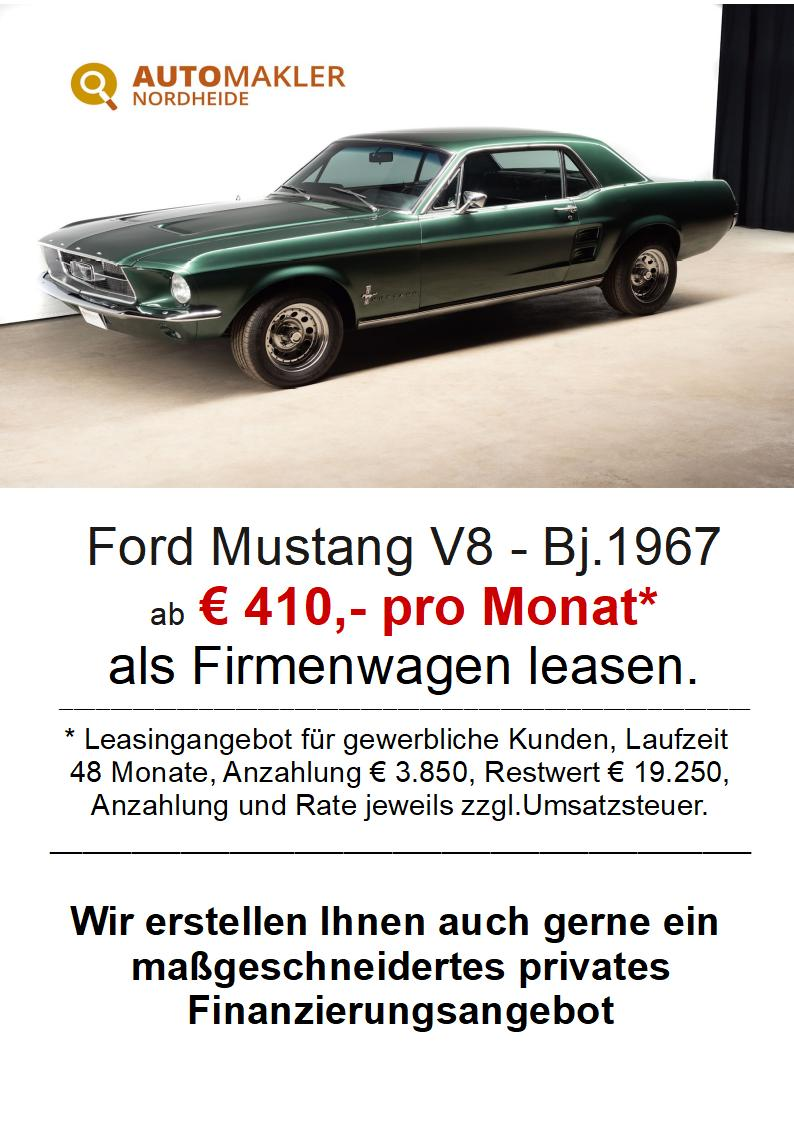 Ford Mustang Coupe - Restaurationskosten über 55.000€